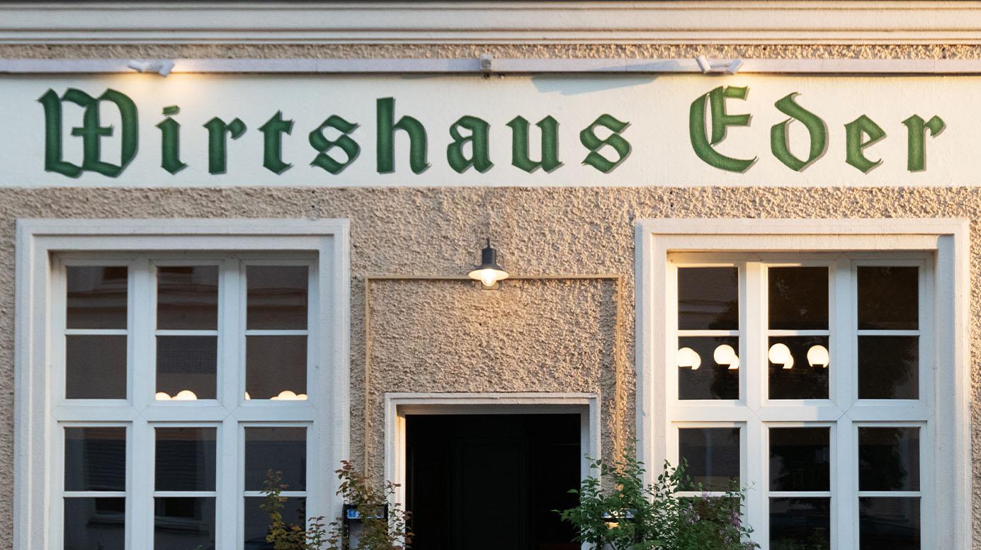 Wirtshaus Eder in München, Aussenansicht